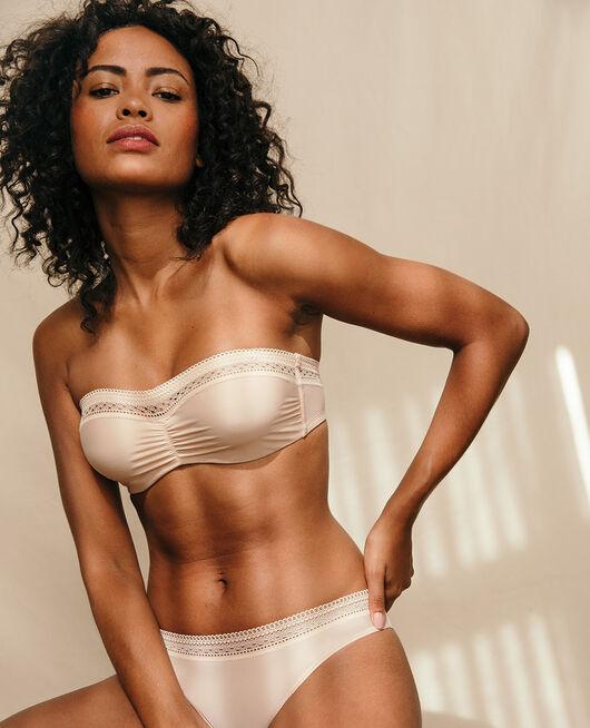 Strapless bra Powder Eclat