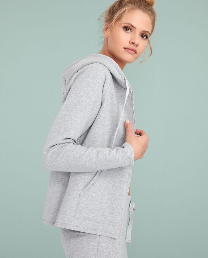 Sporty jacket Light grey Moove