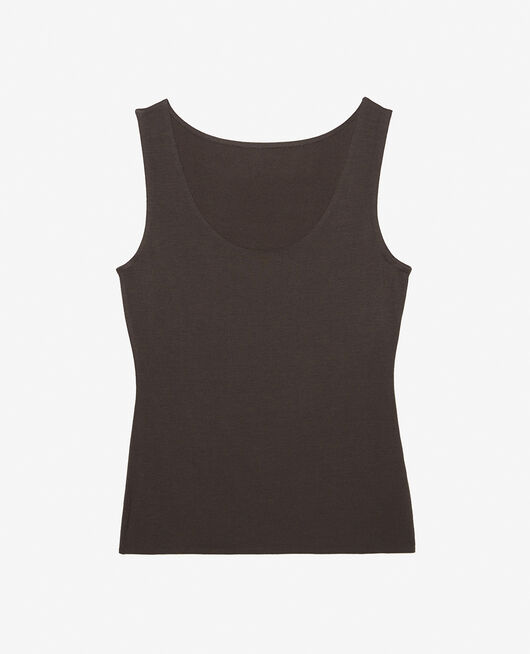 Vest top Grey fog Inner heattech
