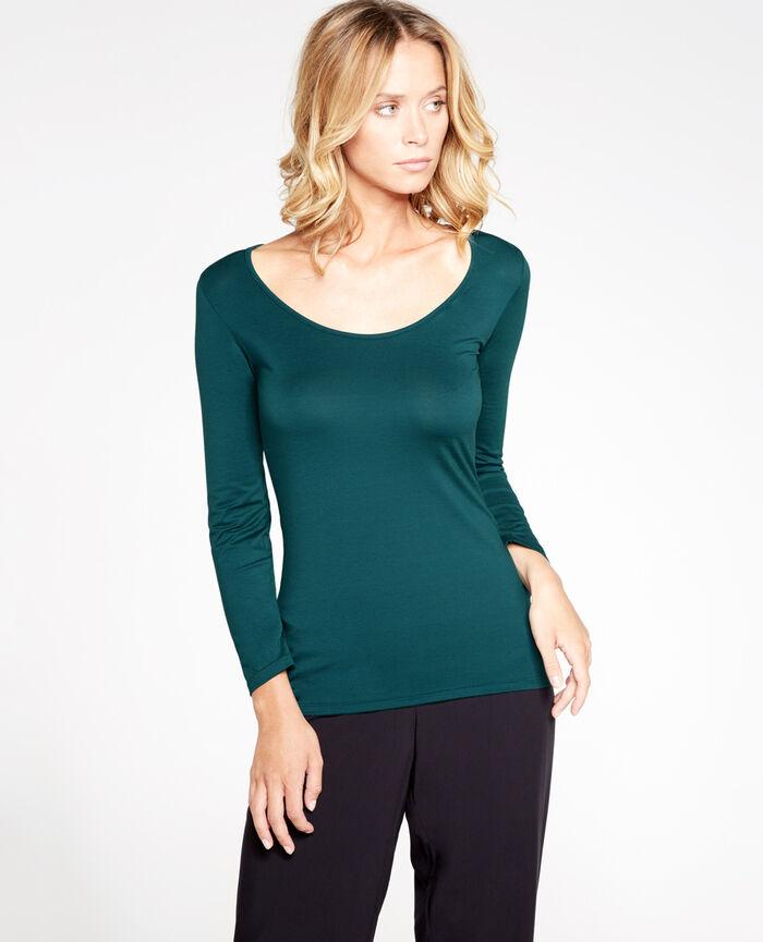 Top manches 7/8ème Vert nuit Innerwear
