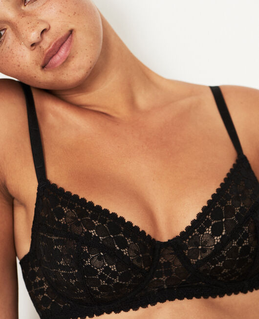 Underwired bra Black Josephine