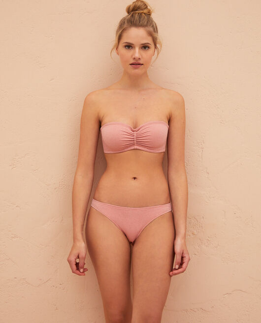 Underwired strapless bikini top Safran Salma