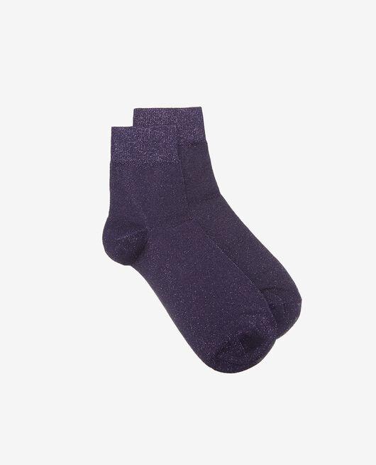 Socks Cabaret blue Glow