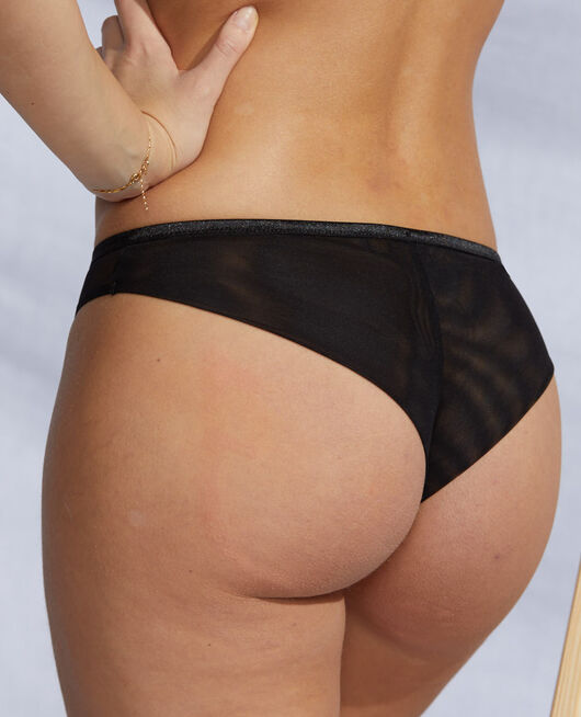 Brazilian briefs Black Pure
