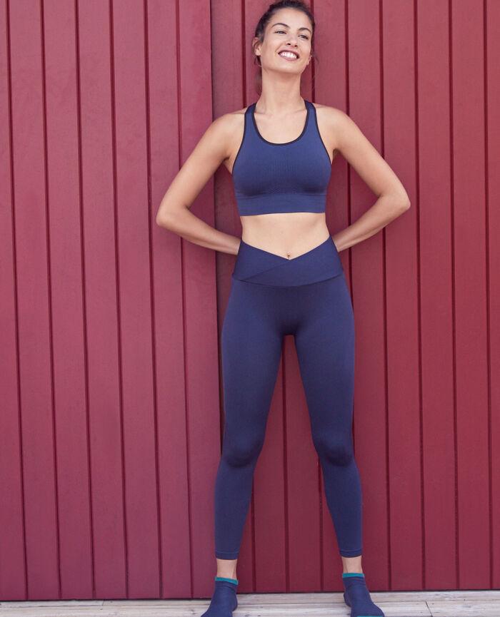 legging sport bleu marine