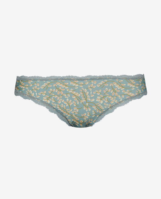 Hipster brief Almond green wisteria Take away