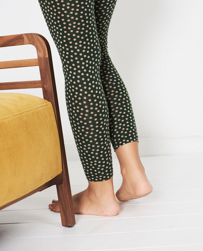 Legging Mini vert cyprès Tamtam shaker