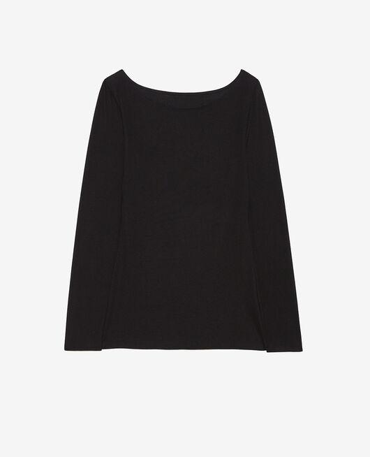 T-shirt manches longues Noir Heattech® innerwear