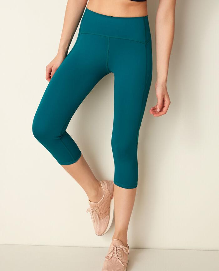 Short running legging Mezcal green Run