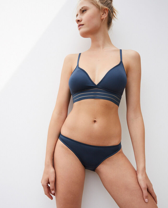 Hipster briefs Graphite grey Air lingerie