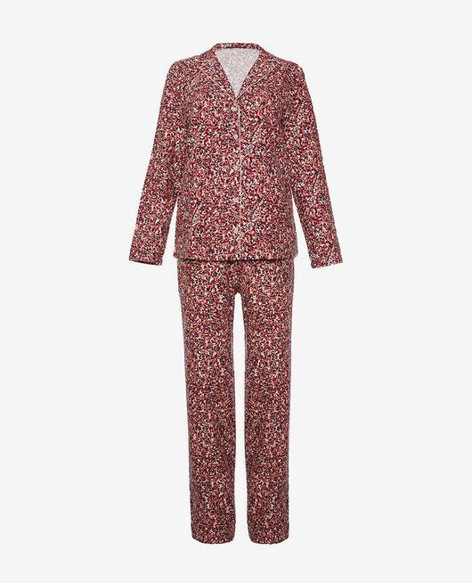 Set pyjama Neige multico Flanelle