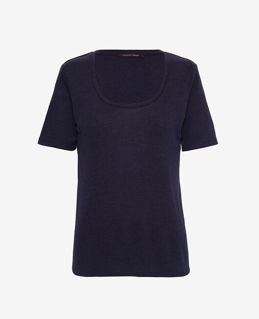 Short sleeve t-shirt Navy Latte