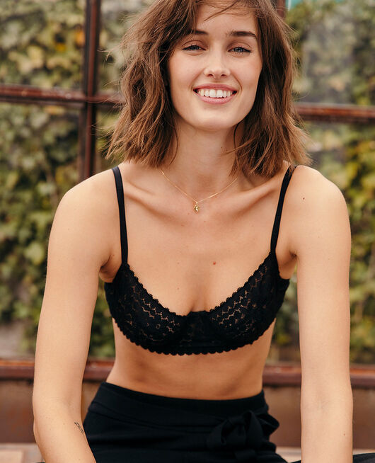 Underwired bra Black Monica