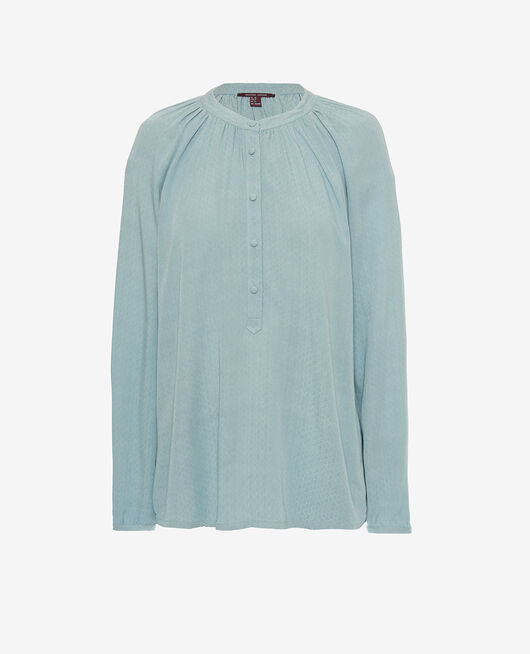 Long-sleeved shirt Blue fog Amplitude