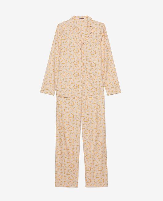 Pyjama set Natural beige feather Dodo