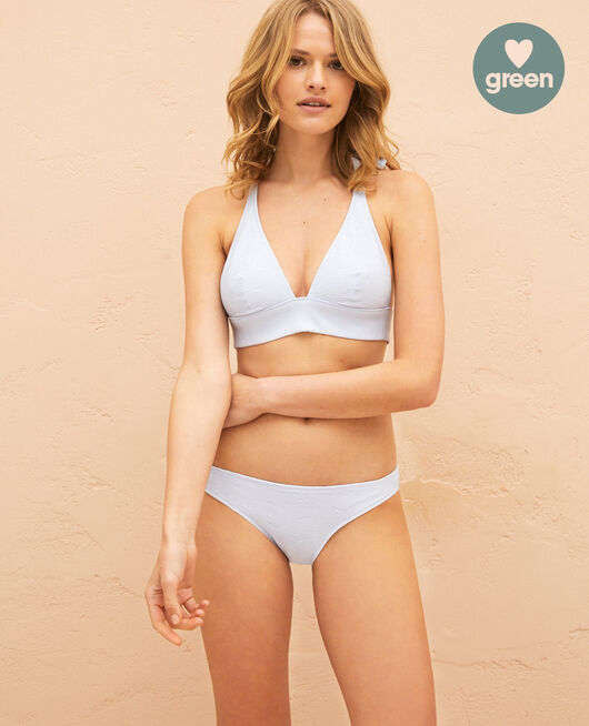 High-cut bikini briefs Atlas blue Niala