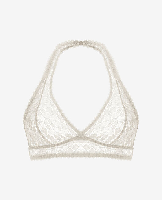 Backless triangle bra Rose white Josephine