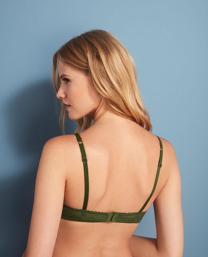 Soutien-gorge avec armatures Vert agency Beaute