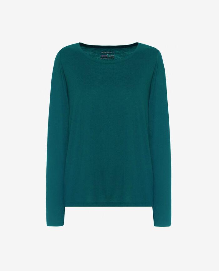 Long-sleeved t-shirt Mezcal green Latte