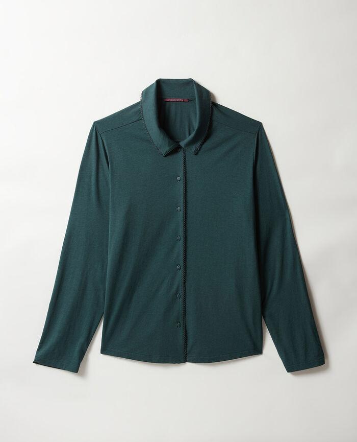 Pyjama jacket Night green Bonne nuit