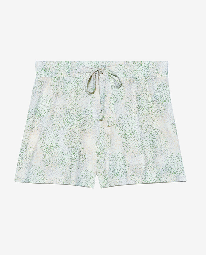 Short de pyjama Pointillisme ivoire Tam tam shaker