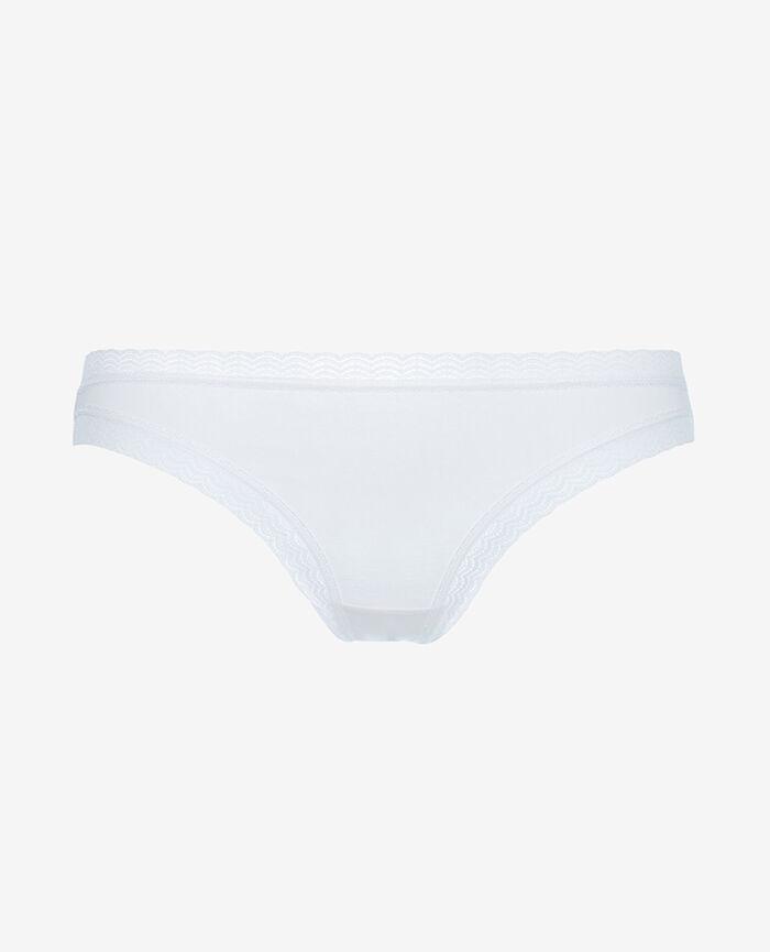 Culotte taille basse Blanc Echo