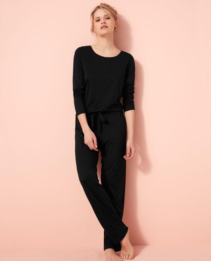 Pantalon de pyjama Noir Latte