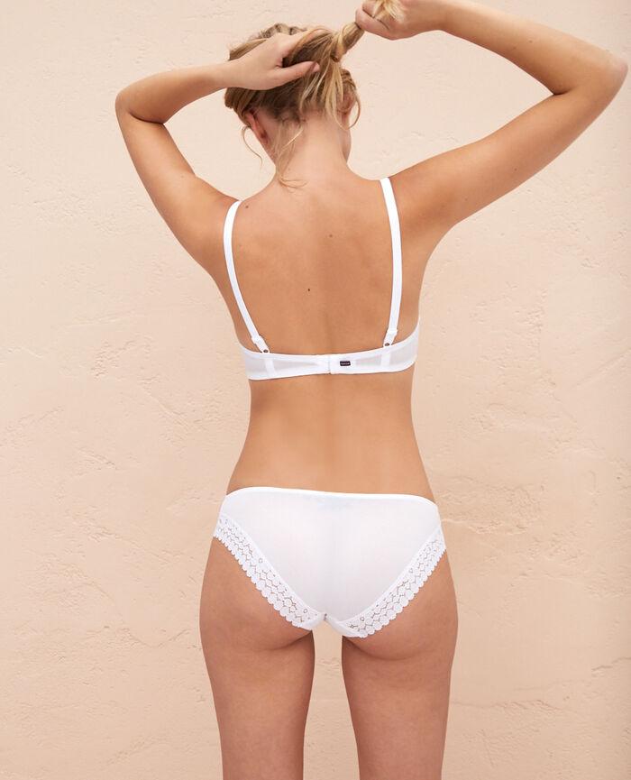 Padded push-up bra White Monica
