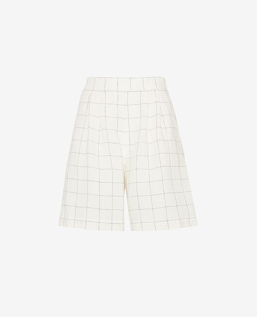Short Carreaux Chic lin