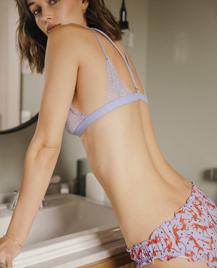 Culotte fantaisie Baker violet Take away