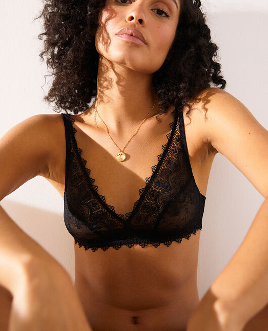 Soft cup bra Black Amour
