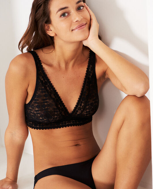Wireless bra Black Josephine