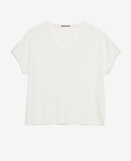 Short-sleeved t-shirt Rose white Attitude