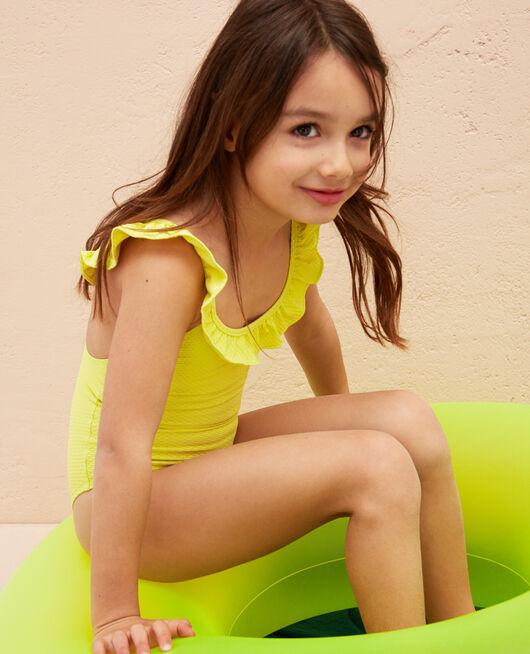 Nageur enfant Jaune lime Phoebe