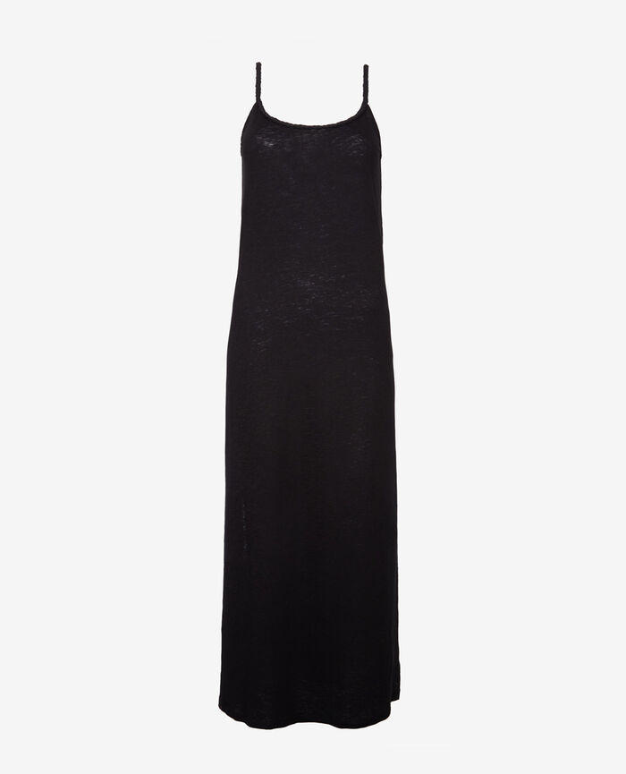Robe longue Noir Argan