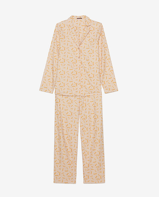 Set pyjama Plume beige naturel Dodo