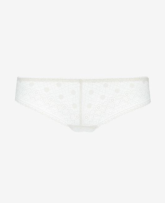Tanga Rose white Confetti