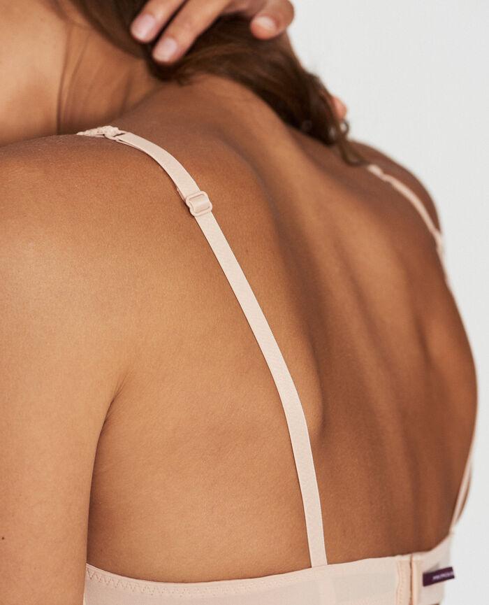 Soft cup bra Powder Eclat