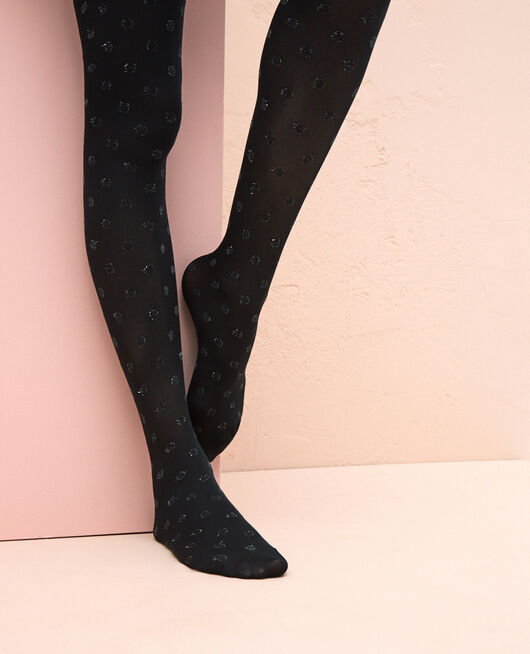 Fancy tights 50d Black Twist