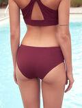 Culotte de bain sport Rouge cassis Aqua