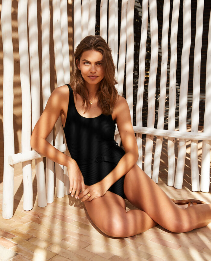 Swimsuit Black Couture