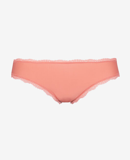 Culotte taille basse Rose griotte Take away
