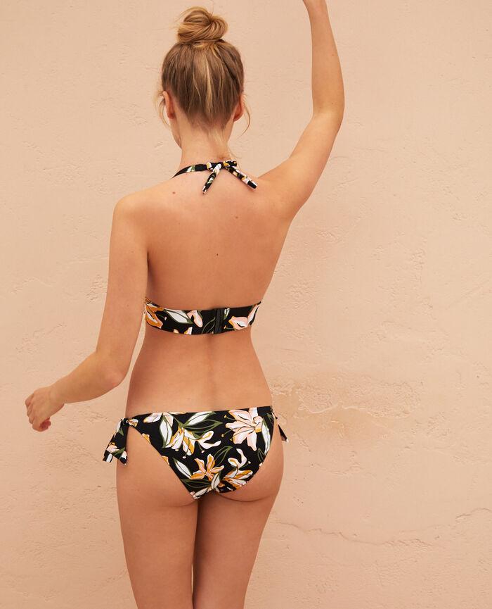 Triangle bikini top Multicolour Petal