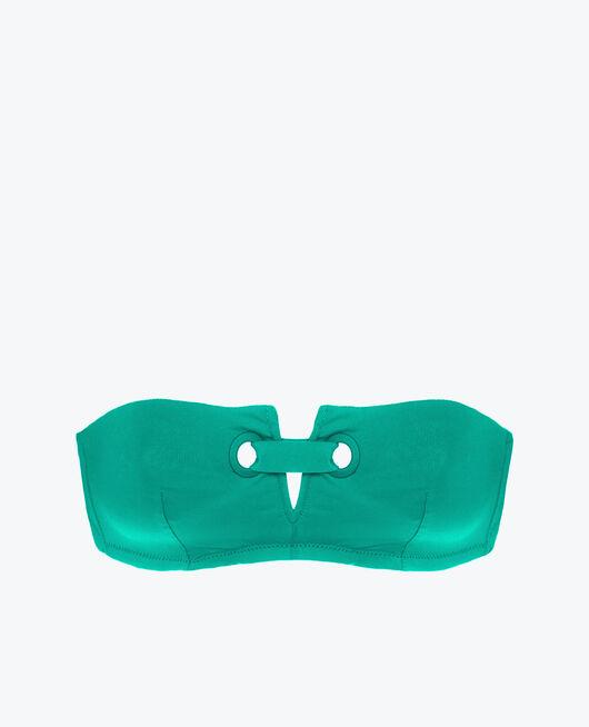 Maillot de bain bandeau sans armatures Vert casa Impala