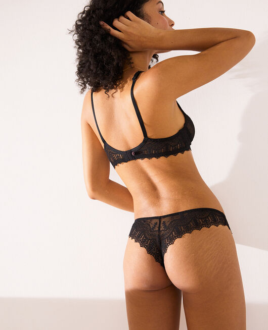 Tanga Black Amour