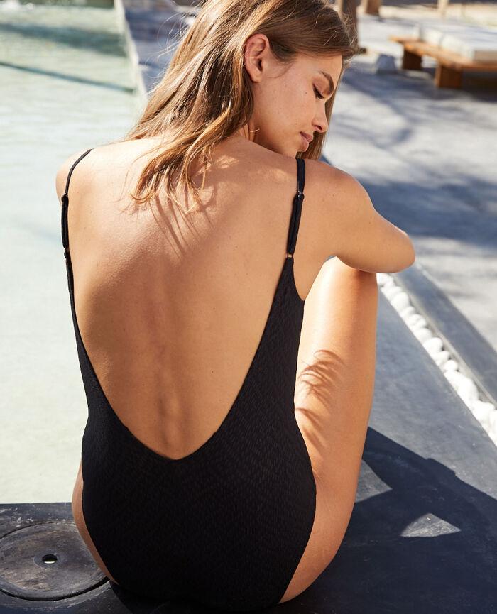 Swimsuit Black Allure