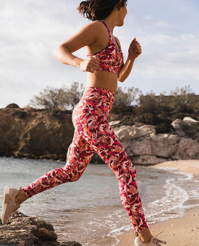 Legging de sport Chabi beige dune Run