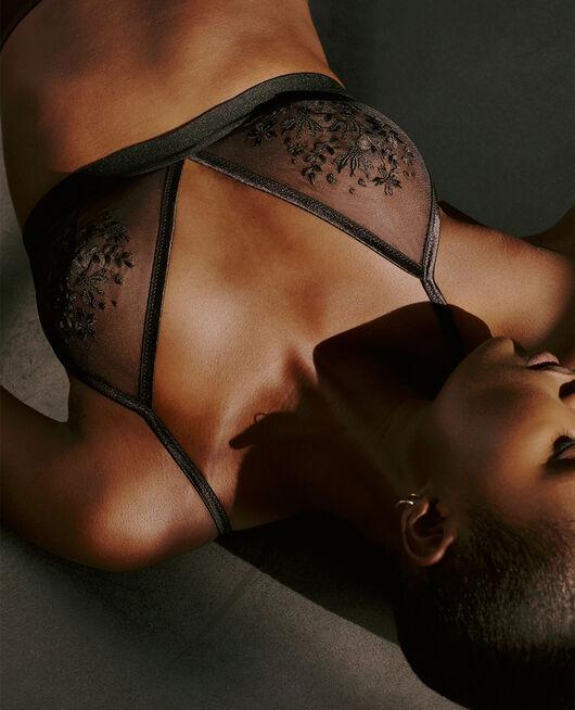 Soft cup bra Black Pure