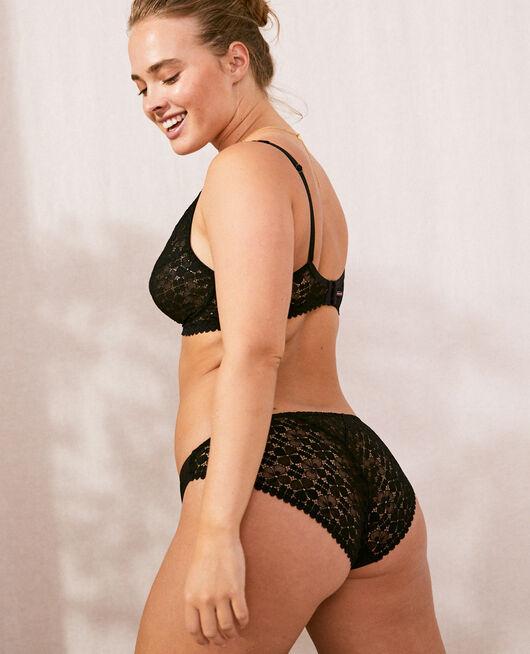 Culotte taille basse Noir Josephine