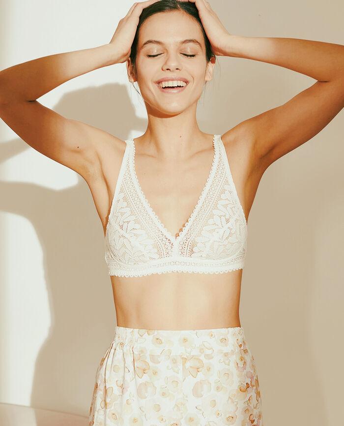 Wireless bra Rose white Evidence - the feel good